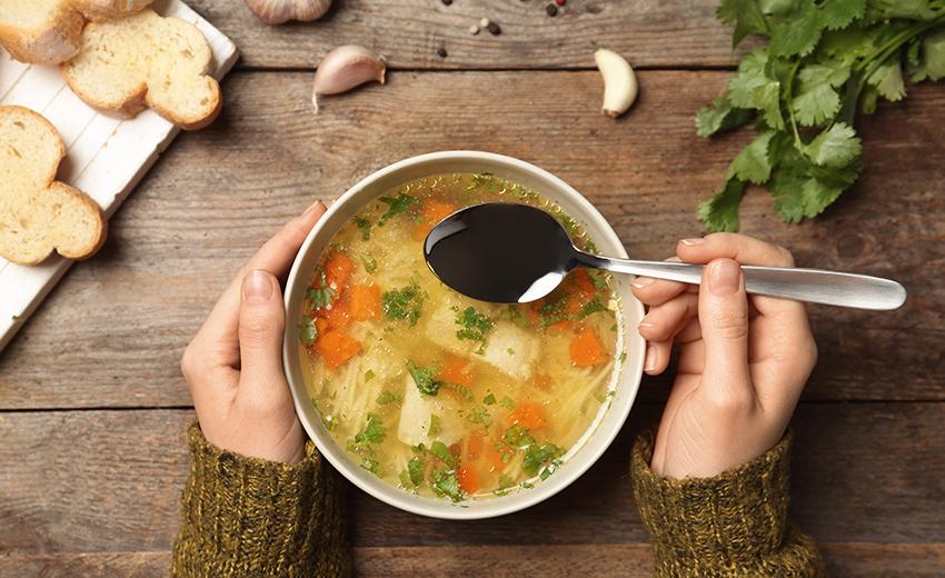野菜 加熱 スープ