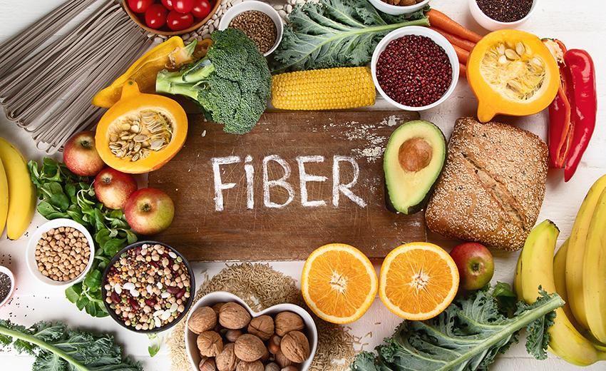 食物繊維 多く含む