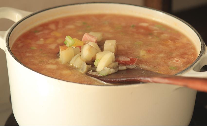 温活 腸活 スープ
